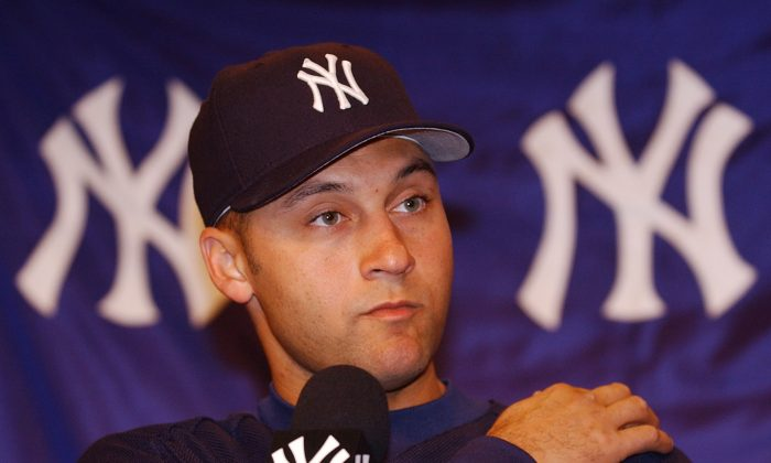 Derek Jeter was be the 11th captain in Yankees history, an honor also bestowed upon Babe Ruth, Lou Gehrig, Thurman Munson, Willie Randolph. The previous Yankees captain was Don Mattingly, who retired in 1995. (AP Photo/Al Behrman)