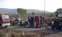 Spain: 14 Students Killed, 30 Injured in Highway Bus Crash