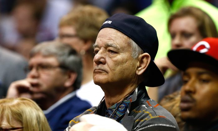 Actor Bill Murray's son Luke Murray is an assistant coach for the Xavier Musketeers. (Jamie Squire/Getty Images)
