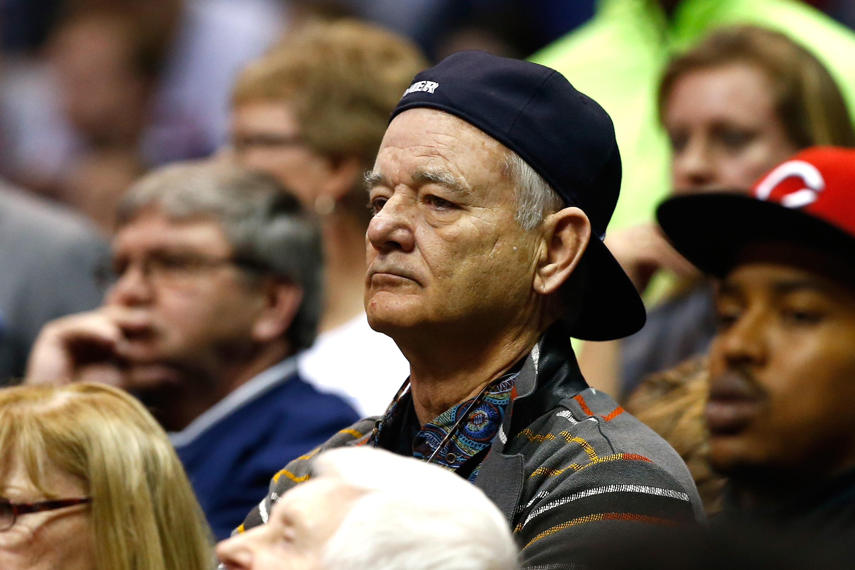Bill Murray: Videos Show Actor Reacting at Xavier's NCAA Game Against Wisconsin