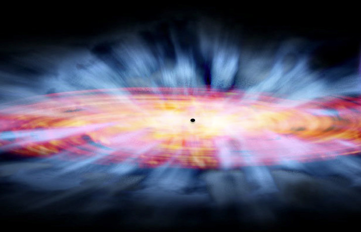 Scientists Find Massive Black Hole With Weight of 17 Billion Suns in Unlikely Place