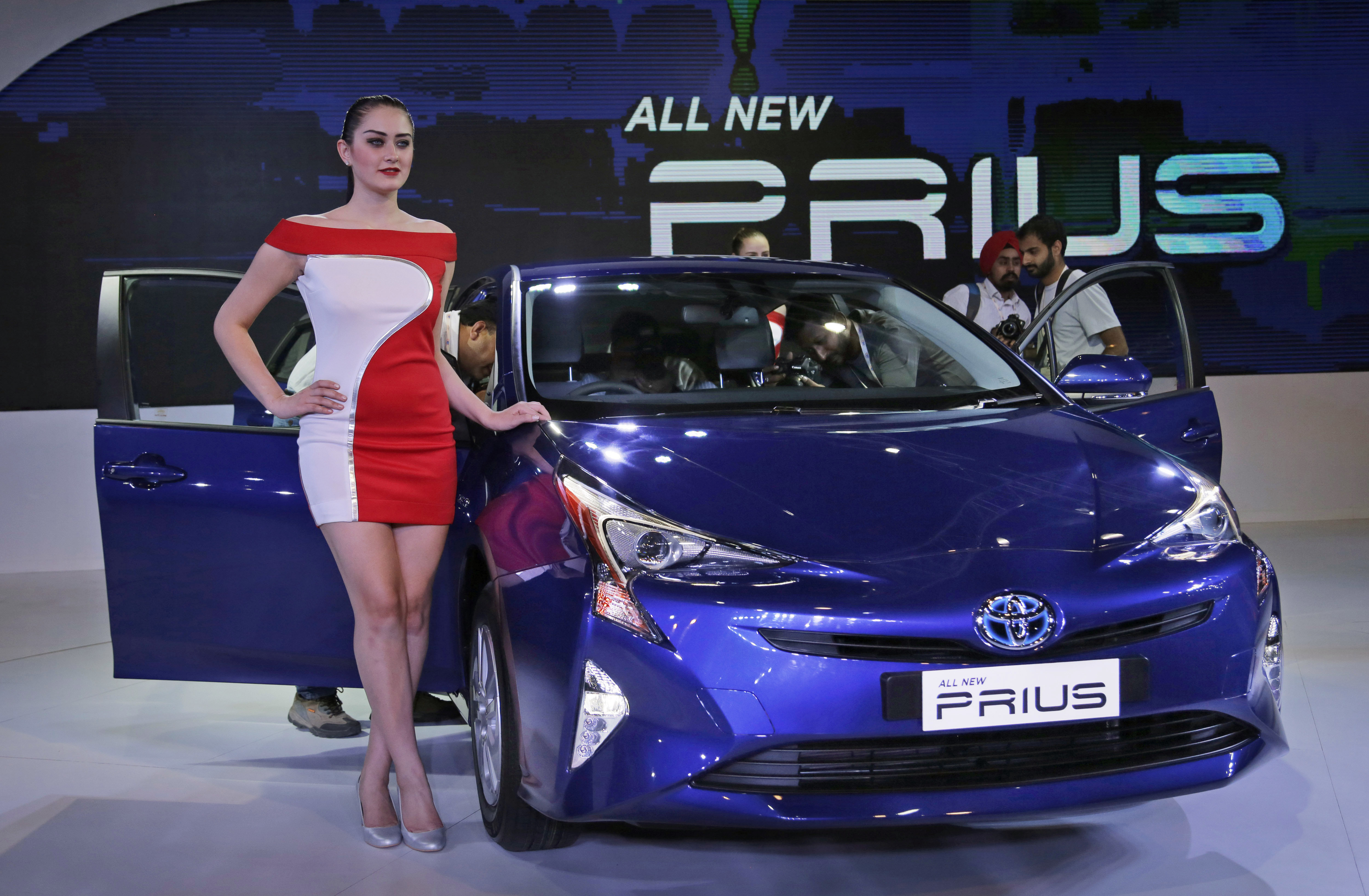 Toyota Introduces Prius Prime At New York Auto Show New York - Toyota show car