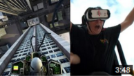 WATCH: Virtual Reality Roller Coaster Knocks These Guys Socks Off