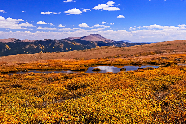 On top of the mountain, Lost Canyon in Colorado. (Cat Rooney/Epoch Times)