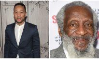 John Legend Honors Comedian Dick Gregory