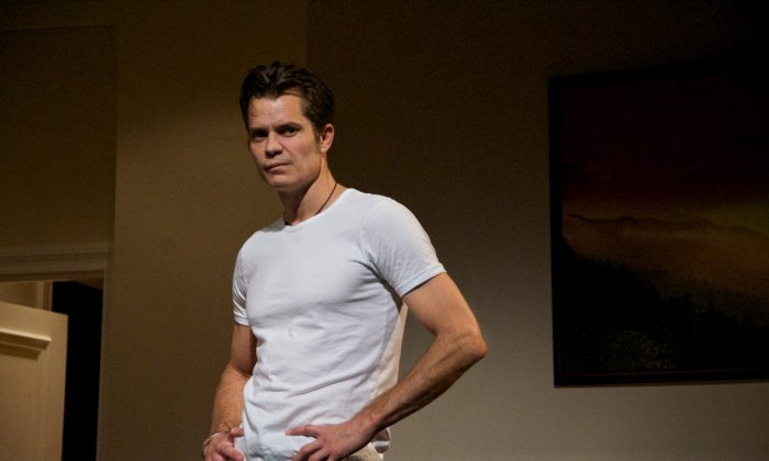 Strings McCrane (Timothy Olyphant) is a mega-wattage Country and Western singer with mainstream appeal and a burgeoning film career. (Doug Hamilton)