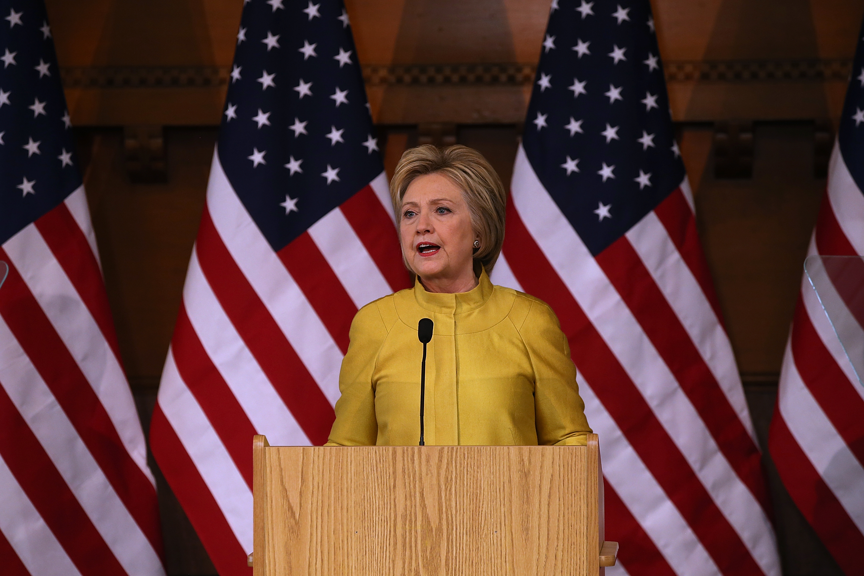 Hillary Clinton Says She's Not Interested in an Endorsement From Billionaire Charles Koch