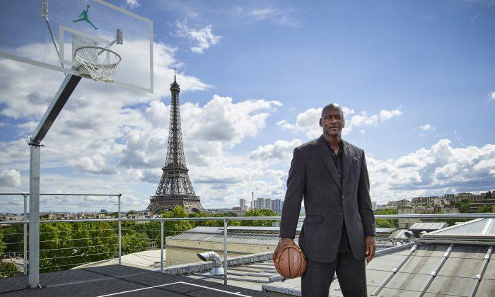 Former Chicago Bulls Michael Jordan still makes over $100 million a year in retirement. (Jordan Brand via Getty Images)