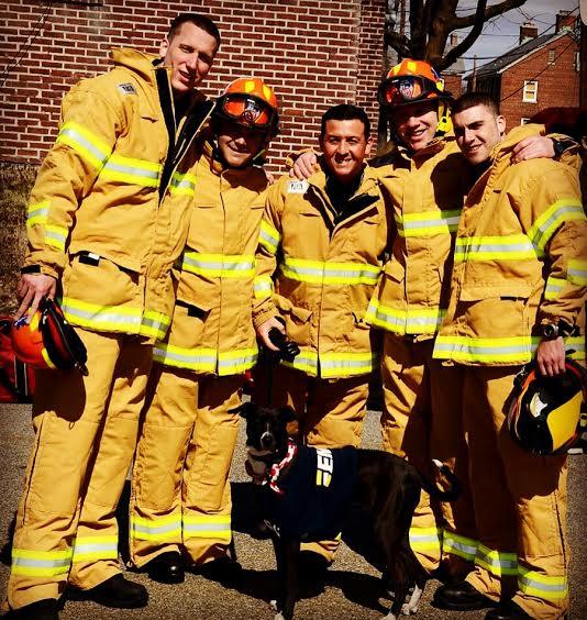 Left to right: Ryan Powers , Timothy Guerra , Shane Mezzacappa , VIncent Curtin , Patrick Gannon (Photo courtesy Shane Mezzacappa)