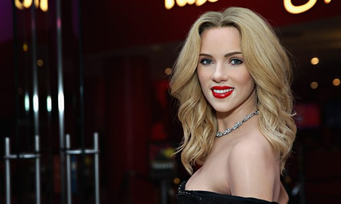Madame Tussauds New York unveils first-ever wax figure of actress Scarlett Johansson on July 30, 2015 in New York City.  (Cindy Ord/Getty Images for Madame Tussauds)