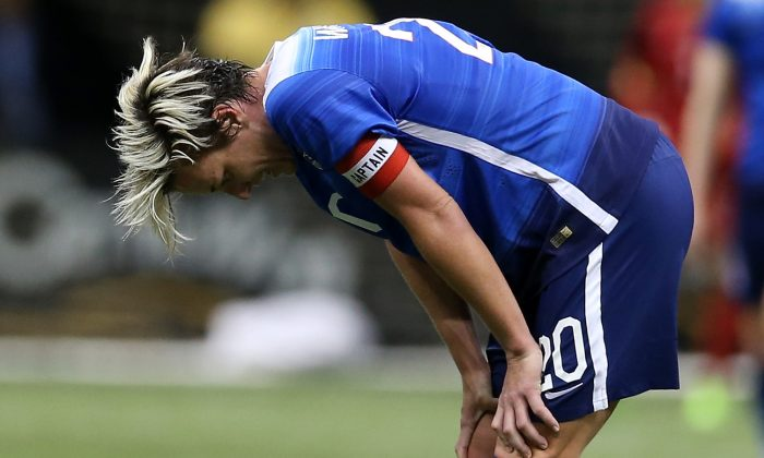 Abby Wambach is the women's all-time leader is goals scored with 184. (Chris Graythen/Getty Images)