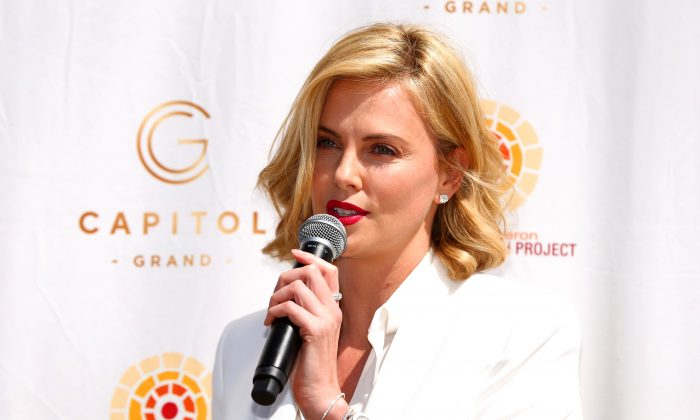 Actress Charlize Theron in Melbourne, Australia, on March 15, 2015. (Robert Cianflone/Getty Images)