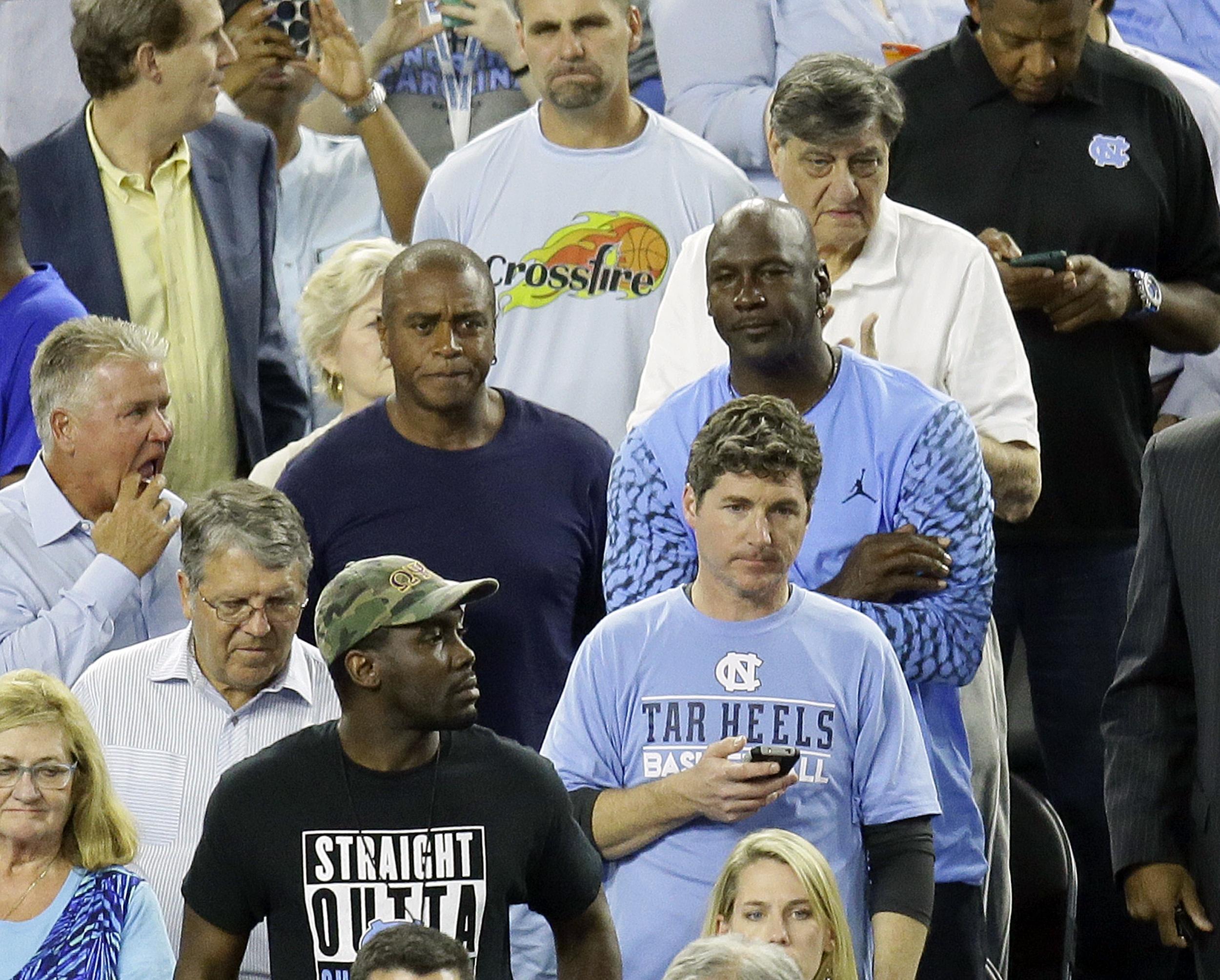 e20ed9aafbe #CryingJordan: Hashtag Surfaces Related to Michael Jordan Meme After North  Carolina's Loss to Villanova