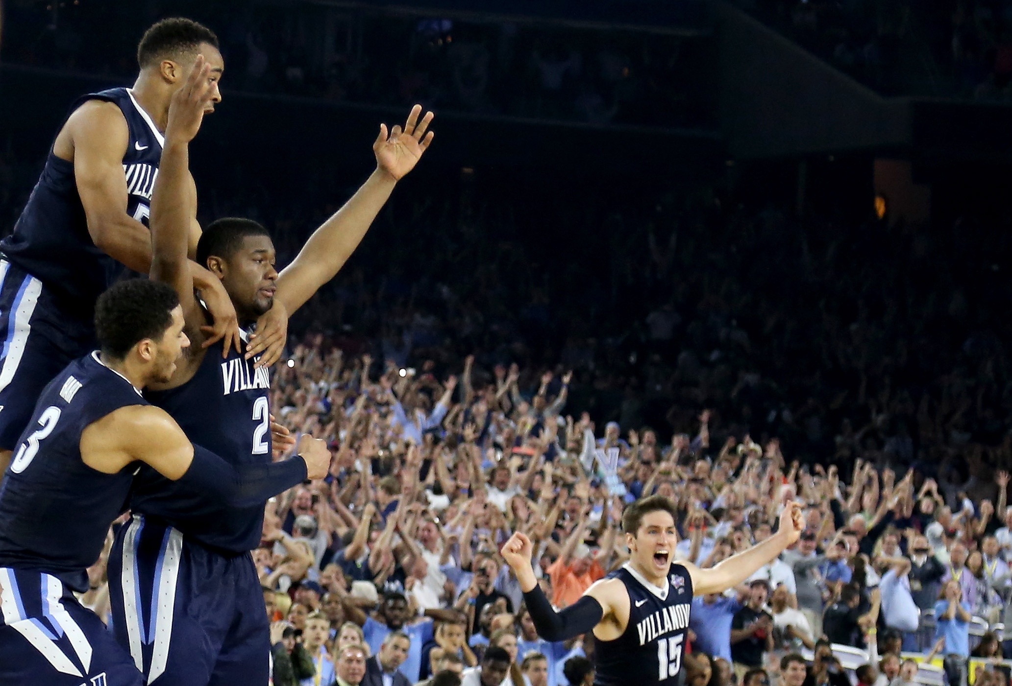 Video: National Title Buzzer-Beater Sets Off the Pavilion