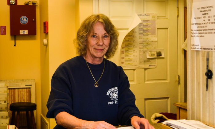Marlene Roe, owner of Westbrookville Post Office contract in Westbrookville on March 21, 2016 (Yvonne Marcotte/Epoch Times)