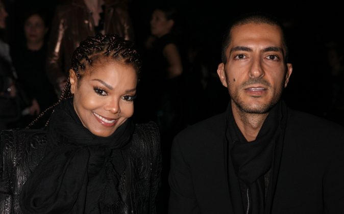Janet Jackson and Wissam al Mana attend the Sergio Rossi presentation cocktail during Milan Fashion Week Womenswear Fall/Winter 2013/14 on February 21, 2013 in Milan, Italy. Jackson confirmed she is expecting via People magazine.(Vincenzo Lombardo/Getty Images for Sergio Rossi)