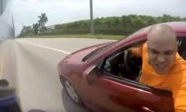 Scary Road Rage Incident Caught on Tape Leads to Intense Search for Malicious Driver