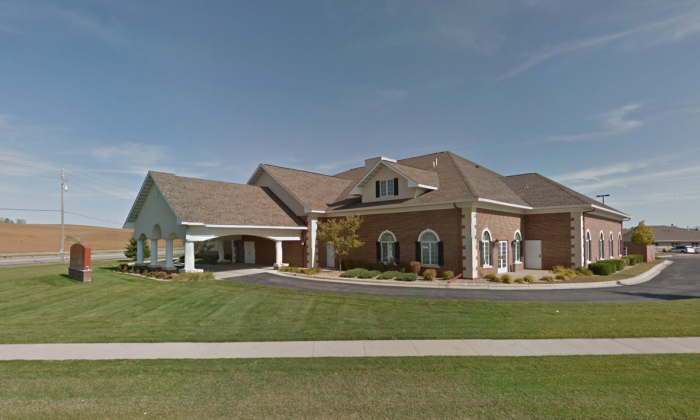 Employees from Ranfranz & Vine Funeral Home (pictured) mistakenly took the body of Tony Huber for cremation. (screenshot/Google Maps)