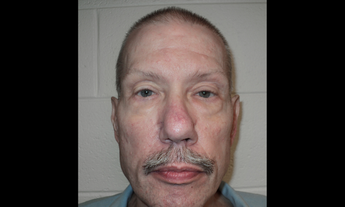 Keith Allen Haward, who had spent 33 years in prison for a murder he didn't commit, on April 30, 2013 (Virginia Department of Corrections)
