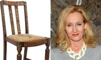 Harry Potter Author's Chair Sells for $394,000 at Auction
