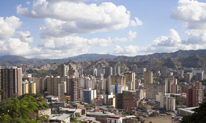 Venezuela's capital Caracas. (drywater_photography/iStock)
