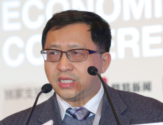 Fang Binxing at a conference in 2015. (via Netease)