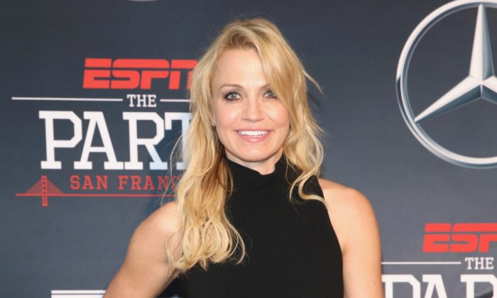 ESPN Host Michelle Beadle attends ESPN The Party on February 5 in San Francisco, California. (Robin Marchant/Getty Images for ESPN)
