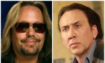 Video: Nicolas Cage Restrains Vince Neil Outside Las Vegas Hotel