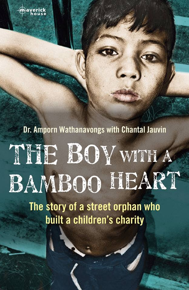 "Cover of the book, ""The Boy With a Bamboo Heart,"" by Chantal Jauvin. (Maverick House)"
