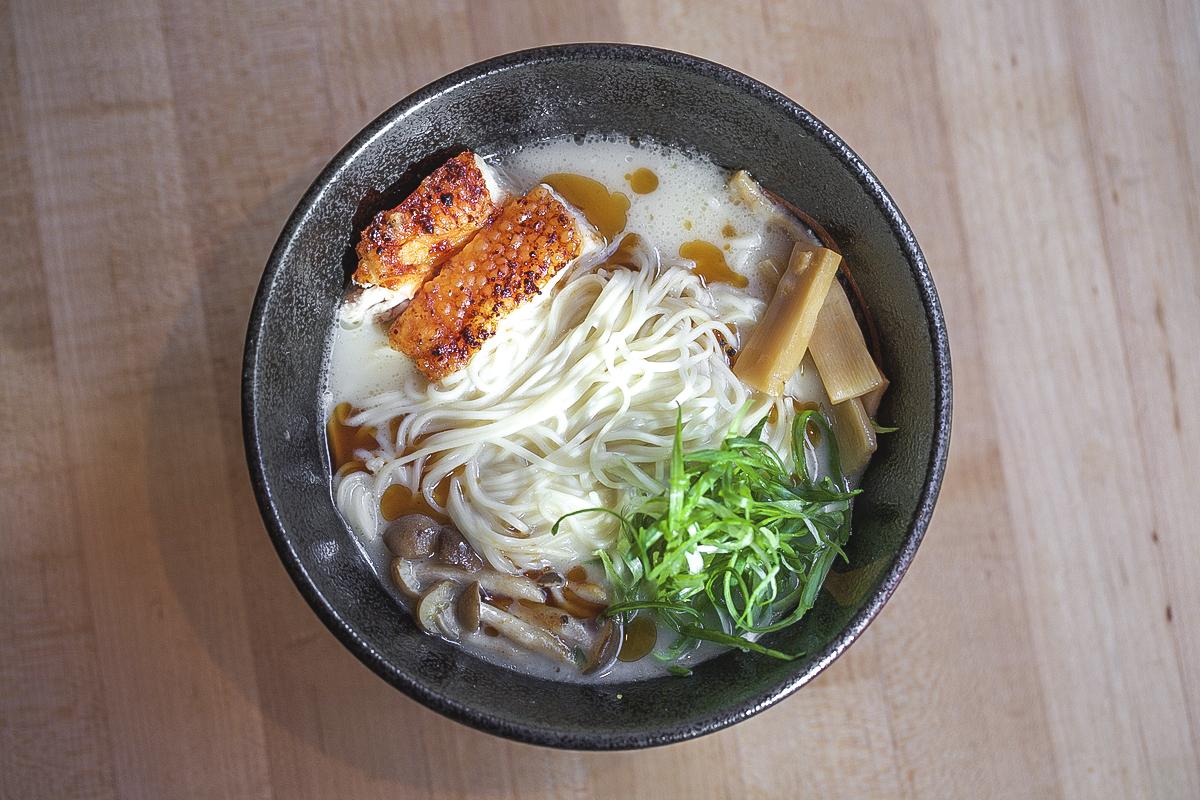 The Hakata Tonkotsu ramen. (Clay Williams)