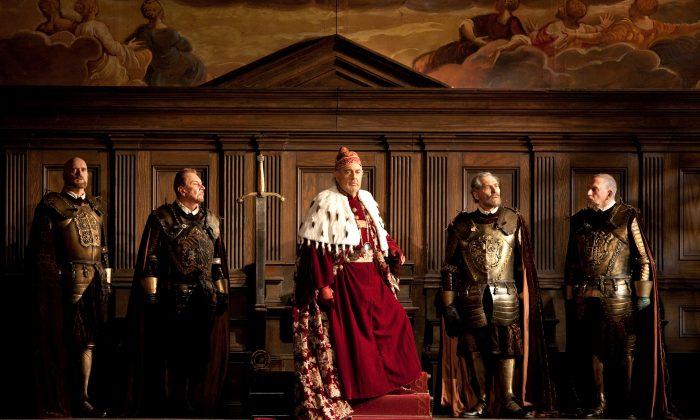 """Plácido Domingo in the title role of Verdi's """"Simon Boccanegra."""" (Marty Sohl/Metropolitan Opera)"""