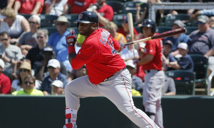 Boston Red Sox's Pablo Sandoval has been benched this season. (AP Photo/Tony Gutierrez)