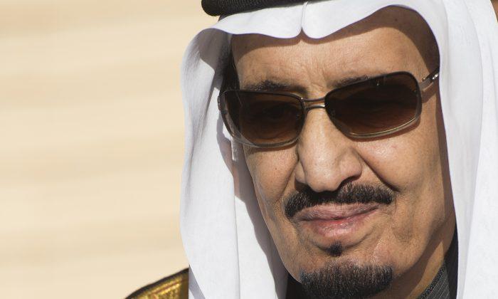 Saudi King Salman on January 27, 2015. (Saul Loeb/AFP/Getty Images)