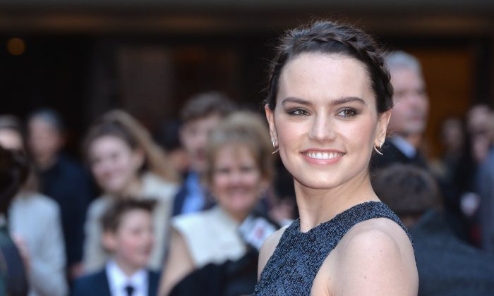 Daisy Ridley attends the Jameson Empire Awards 2016 at The Grosvenor House Hotel in London, England, on March 20, 2016. (Anthony Harvey/Getty Images)