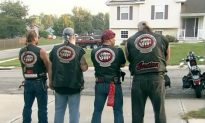 Bikers Protect Girl From Her Abusive Father by Guarding House