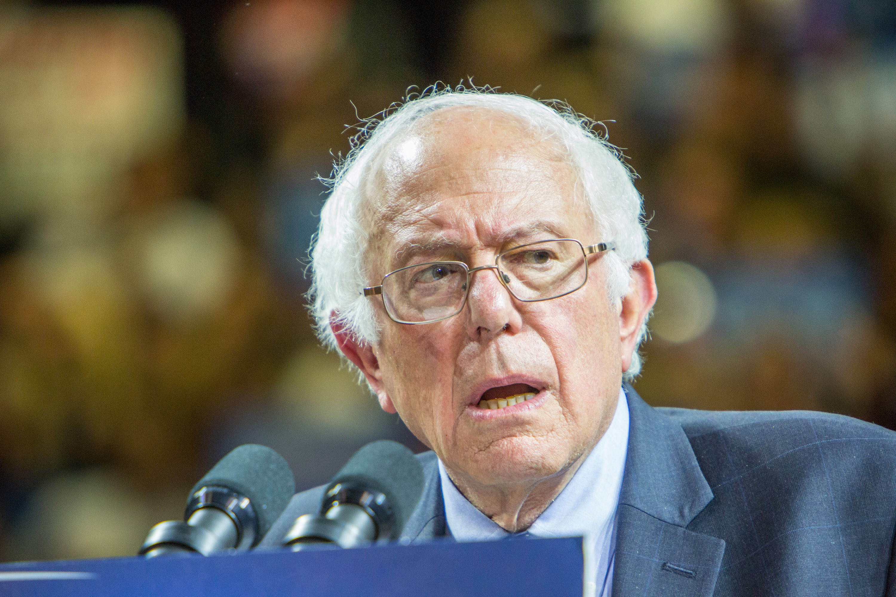 Bernie Sanders Filled Washington Square Park, and Then Some