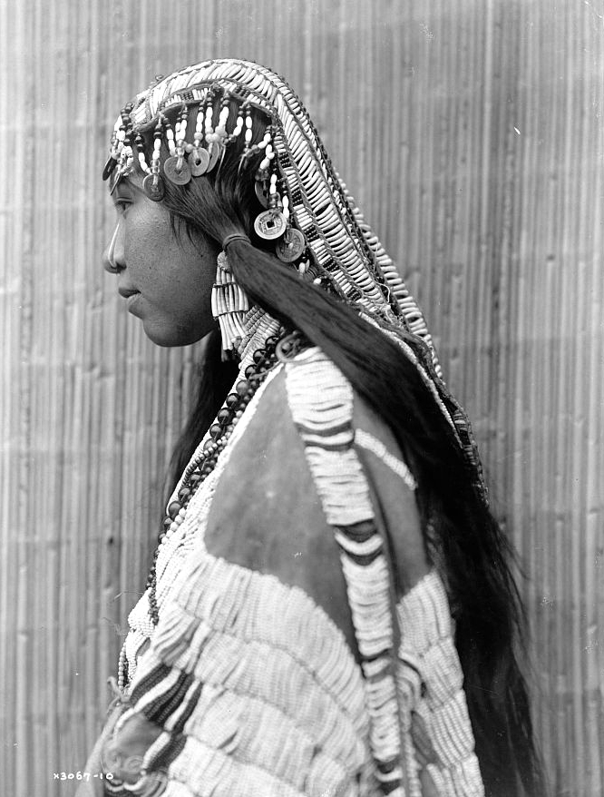 Wisham girl, c1910. (Edward S. Curtis/Library of Congress)