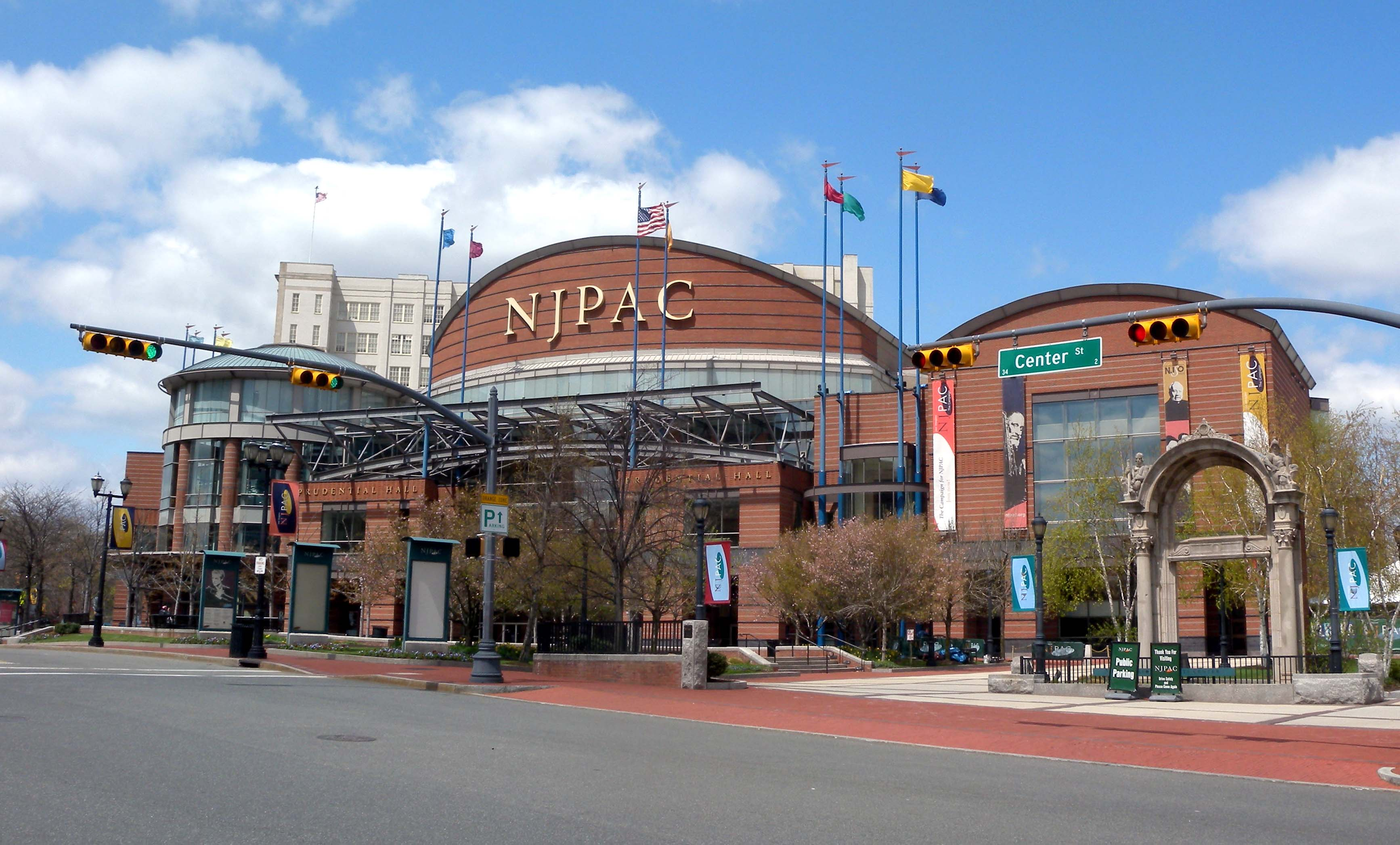 The New Jersey Performing Arts Center (NJPAC) on April 23, 2009. (Jim Henderson/PD)