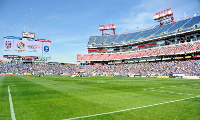 A general view of  Nissan Stadium on March 6, 2016 in Nashville, Tennessee. (Frederick Breedon/Getty Images)