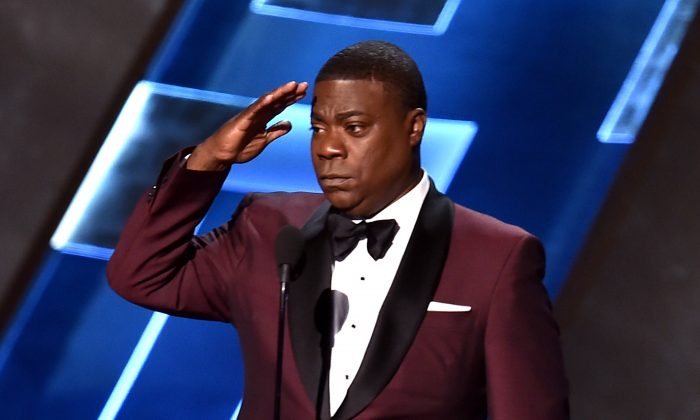 Actor Tracy Morgan speaks onstage during the 67th Annual Primetime Emmy Awards at Microsoft Theater on September 20, 2015 in Los Angeles, California.  (Kevin Winter/Getty Images)