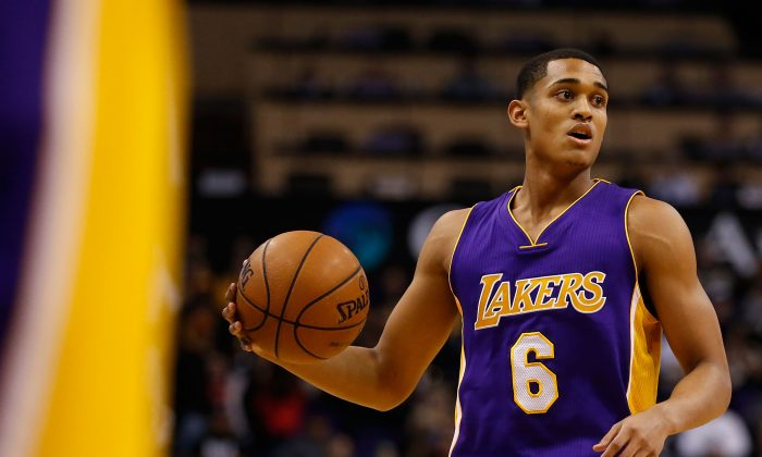 Jordan Clarkson averaged 15.5 points per game for the Los Angeles Lakers this past season. (Christian Petersen/Getty Images)