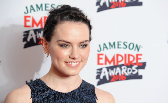 Daisy Ridley attends the Jameson Empire Awards 2016 at The Grosvenor House Hotel on March 20, 2016 in London, England. (Photo by Jeff Spicer/Getty Images)