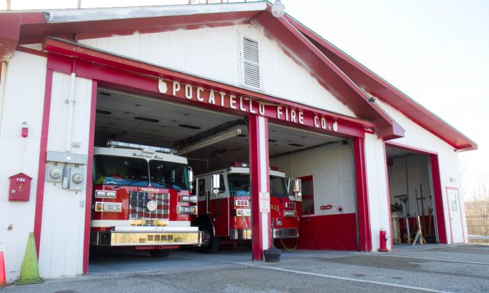 The Pocatello Firehouse in the Town of Wallkilll on April 19, 2016. (Holly Kellum/Epoch Times)