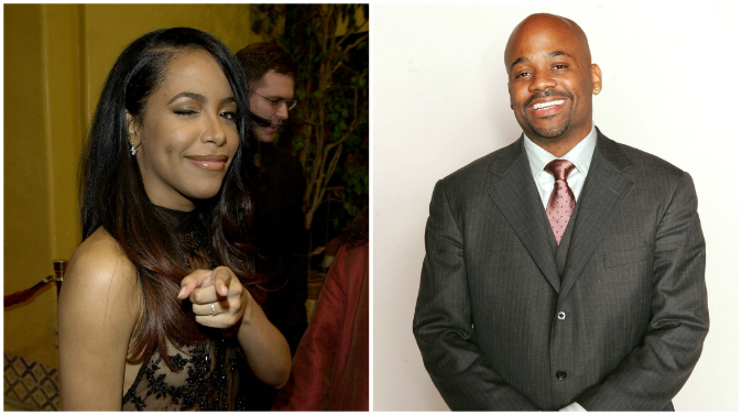 L.  Aaliyah (Vince Bucci/AFP/Getty Images) &  R. Damon Dash (Frank Micelotta/Getty Images)