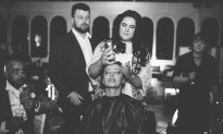 Bride Shaves Head on Wedding Day to Support Husband With Cancer