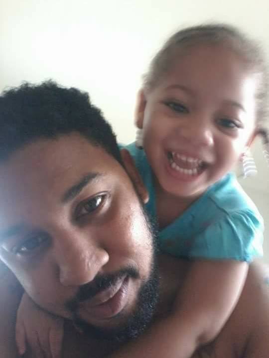 LaVonte Dell with his daughter Lauren Dell (Photo courtesy of LaVonte Dell)