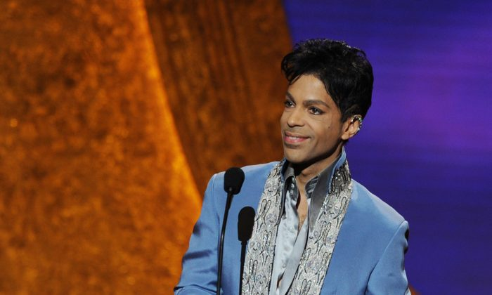 Prince at the 42nd NAACP Image Awards held at The Shrine Auditorium on March 4, 2011, in Los Angeles.  (Kevin Winter/Getty Images  for NAACP Image Awards)