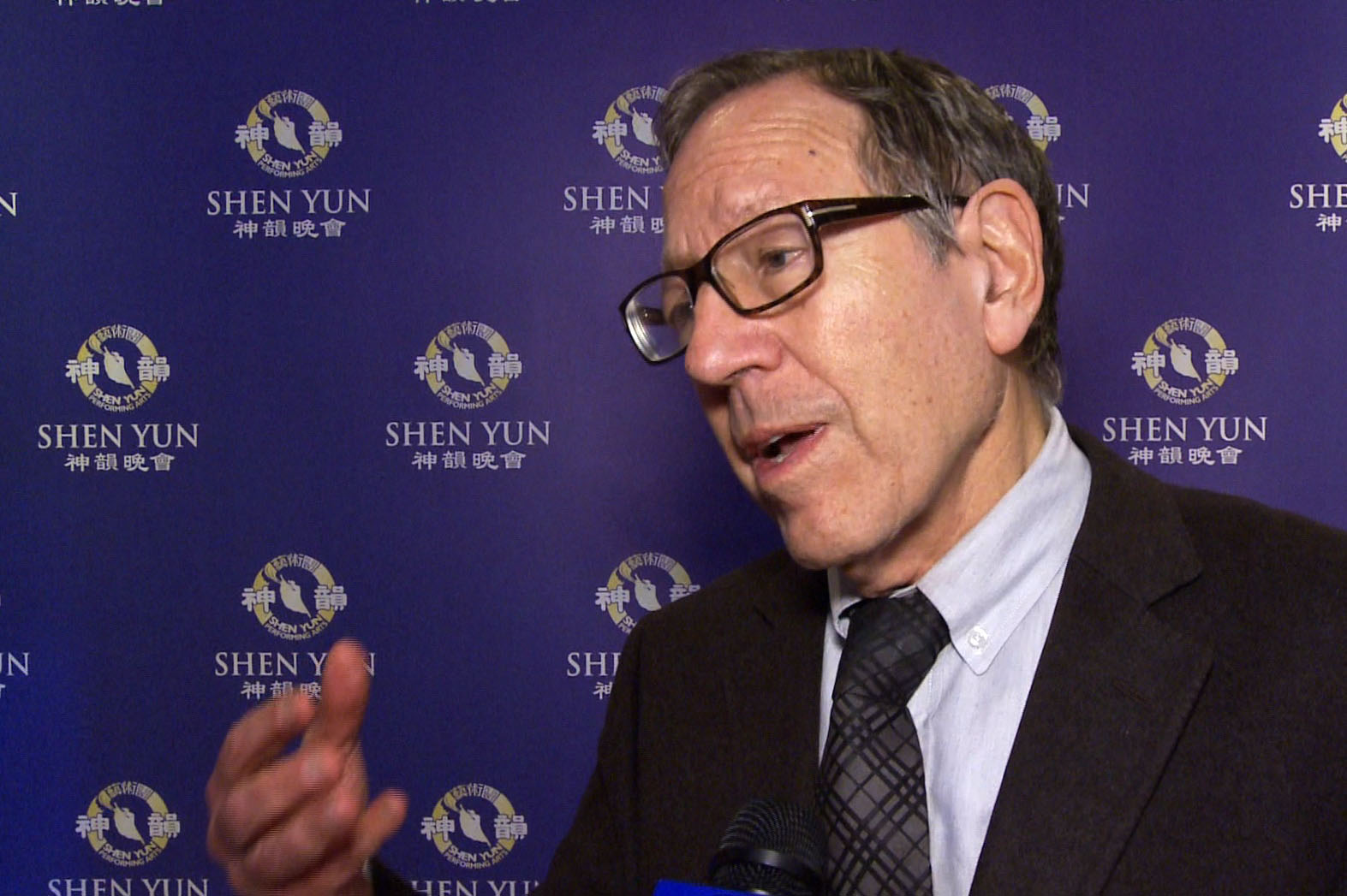 Former Canadian MP Irwin Cotler says Shen Yun is a 'very hopeful performance' after seeing the show at the Sony Centre for the Performing Arts on April 21, 2016. (NTD Television)