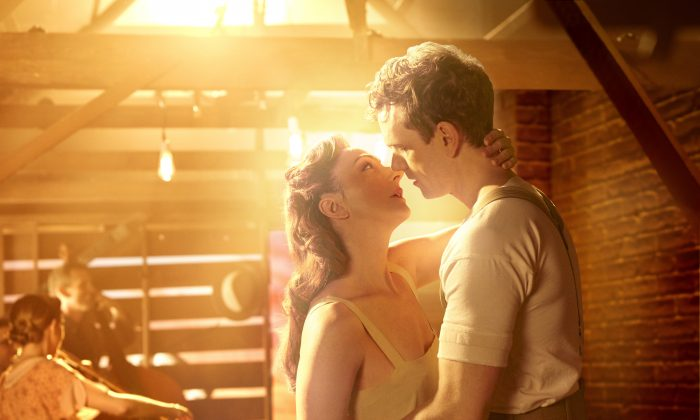 """In 1923, when Alice Murphy (Carmen Cusack) was 16 years old, she was in love with Jimmy Ray Dobbs (Paul Alexander Nolan), in """"Bright Star."""" (Nick Stokes)"""