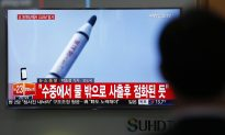 South Korea: North Appears to Fire Submarine-Launched Missile